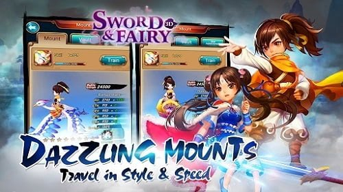 Tải Sword And Fairy 3D