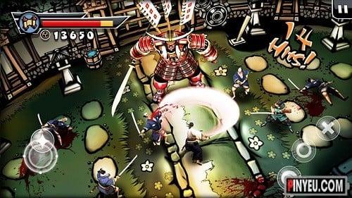 Samurai ii game hay cho android
