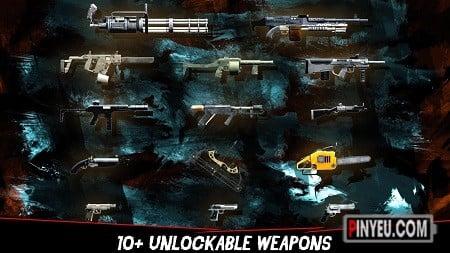 kho vu khi trong game dead