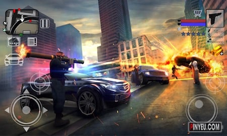 tai game Police vs Gangster New York 3D