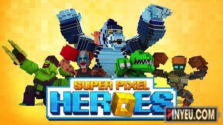 tai game super pixel heros