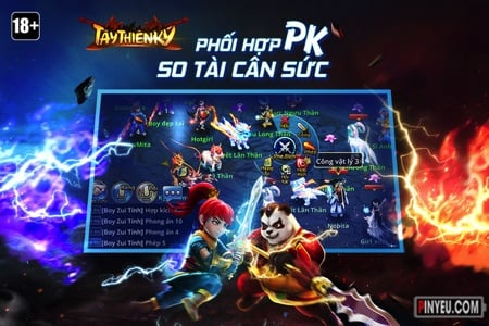 tai game tay thien ky cho android