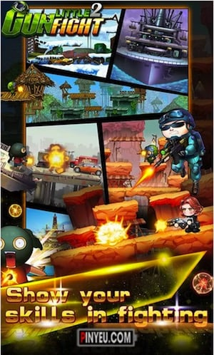 tai game little gunfight 2 swat