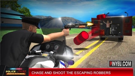 police vs thief motoattack game hay cho android