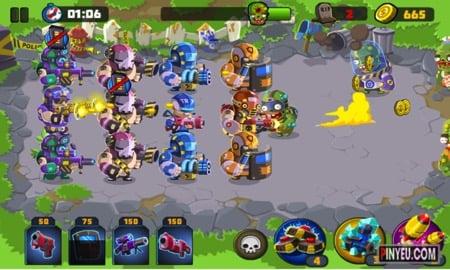 tai game police vs zombies