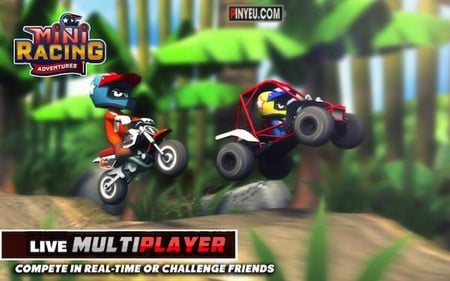 tai game mini racing adventures mien phi