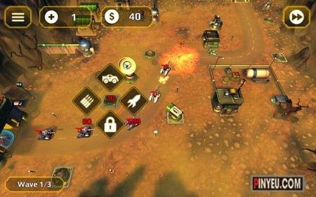 tai game chien thuat tower defense generals td