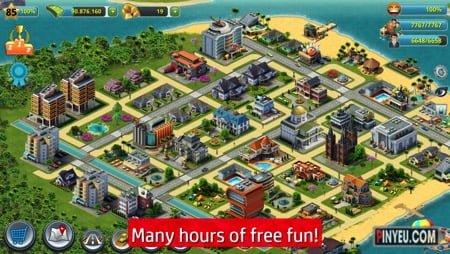 tai game city island 3 building sim