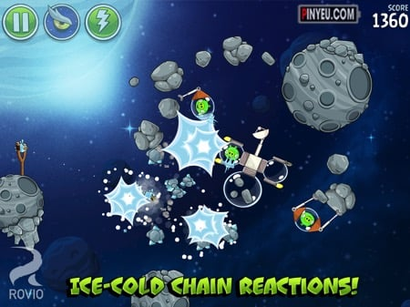 Tai game Tai Angry Birds Space HD