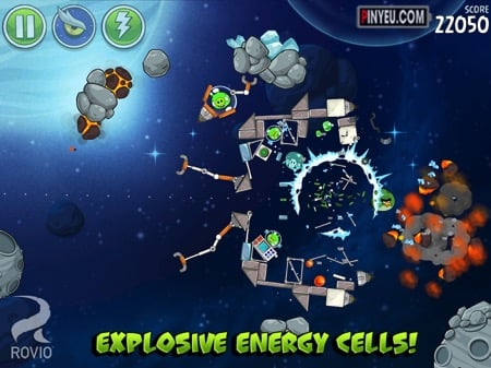 Hack Tai Angry Birds Space HD