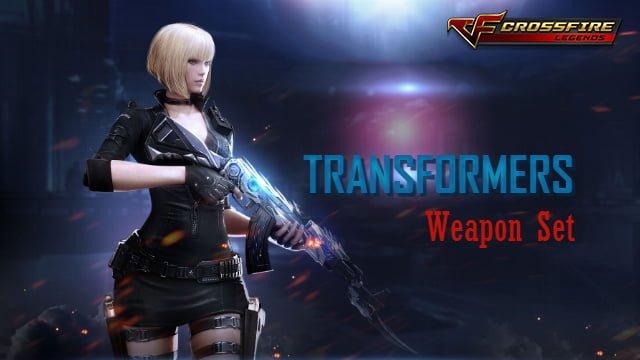 gioi thieu dong vu khi transformers trong crossfire legends