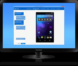 huong dan su dụng teamviewer QuickSupport 3
