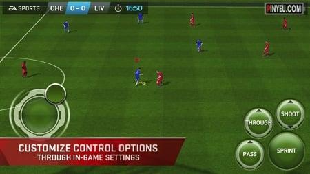 FIFA 15 Ultimate Team cho dien thoai