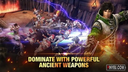 tai game dynasty warriors cho dien thoai
