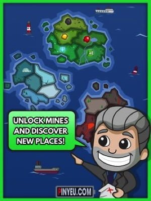 tai game quan ly idle miner tycoon