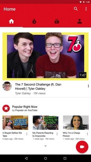 youtube  khong quang cao cho android