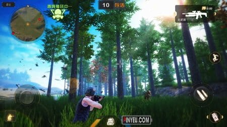 game giong Playerunknowns-Battlegrounds cho android