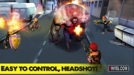zombie street battle cho android