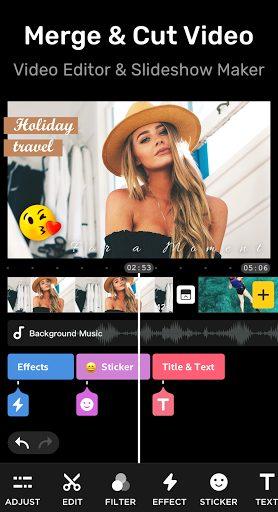 Ứng dụng chỉnh sửa video trên Android